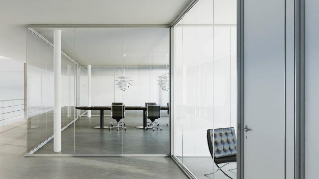 Ndarje me vetrata z izoluese casa dell 39 architetto for Ufficio architetto design